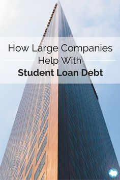 How would you feel if your employer helped you pay off your student loans? Many students would like the idea of this and soon, it may be a reality. Most company benefits include things such as health insurance, retirement options, life insurance, and paid holidays, but now, paying off student loans may be making it to the list.
