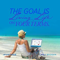 The goal is living life on your terms. -Chris Brogan with Chris Brogan, Ageless Beauty, Optimism, Revolutionaries, Live Life, Anti Aging, Inspirational Quotes, Goals, Thoughts