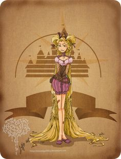 @Shannon Benedict - know you will love these steampunk disney characters!