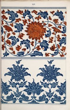 Examples of Chinese ornament, selected from objects in the South Kensington Museum and other collections : [estampe] / by Owen Jones -- 1867 -- images Chinese Design, Chinese Art, Mandala Pattern, Pattern Art, Chinese Ornament, Owen Jones, Art Chinois, Chinese Patterns, Chinese Typography