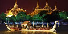 Bootsfahren am Chao Phraya