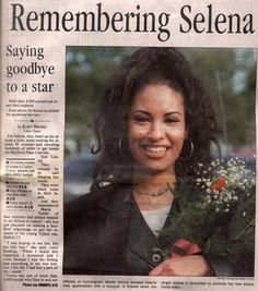 Selena Quintanilla Perez Goon too soon !!!