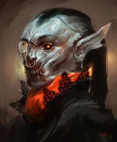 creaturesfromdreams: GameFace Vampire by ~Beastysakura —-x—- More: | Vampires | Random |