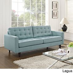 Tips That Help You Get The Best Leather Sofa Deal. Leather sofas and leather couch sets are available in a diversity of colors and styles. A leather couch is the ideal way to improve a space's design and th Bedroom Sofa, Living Room Sofa, Living Room Furniture, Apartment Furniture, Light Blue Sofa, Modern Sofa Table, Sofa Inspiration, Inspiration Boards, Sofa Couch