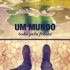 .@Levo na Mochila | #levonamochila #world #map #foot #travel #trip #mundo | Webstagram - the best Instagram viewer