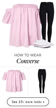 """""""Untitled #2779"""" by laurenatria11 on Polyvore featuring Milly and Converse"""