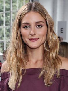 How to Copy Olivia Palermo's Perfect Berry Lipstick Look via @ByrdieBeautyAU