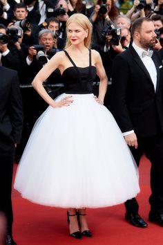 Nicole Kidman en un vestido Calvin Klein y joyas Harry Winston