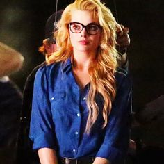 "Margot Robbie on set of ""Suicide Squad"" 