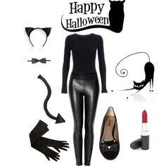 DIY Black Cat Costume @Emma Zangs Perston it's your shoes!!