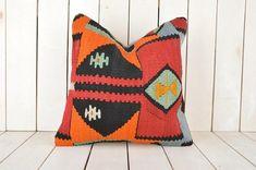 turkish kilim pillow-decorative kilim pillow-ethnic pillow-anatolian kilim pillow kilim pillow case-handmade pillow case -kilim cushion cover-kilim pillow cover  Kilim Pillow Details  1-Size is 16x16 or 40cmx40 cm  2-I make my kilim pillows from fine quality,vintage turkish anatolian