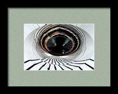 The Eye Of The Bridge Framed Print By Marnie Patchett