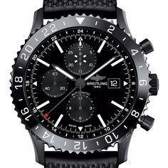 Breitling Chronoliner Blacksteel: Ready for Takeoff › WatchTime - USA's No.1 Watch Magazine