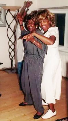 Tina Turner and her mom.