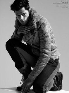 Sean O'Pry for El Libro Amarillo FW 2012 #male #model #fashion #photography