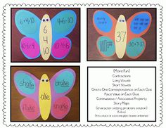 Spring Fever Butterflies Exercise Examples