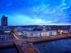 Cork City Hall from Tourismireland  And our office is just right around the corner :)