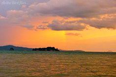 A beautiful sun set in Koh Yao Noi... facing east believe it or not.