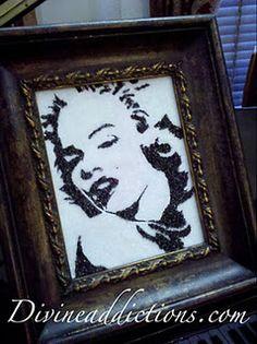 Crushed German Glass Marilyn www.divineaddictions.com