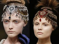 The Style Matrix: Indian Jewelry - by Alexander McQueen