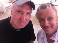 My ex-husband Raphael Wilczek, father of Natascha, with Ute Bronder