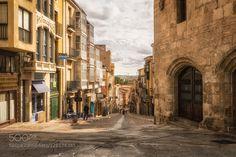 una calle de Zamorauna joya de España !!