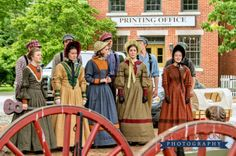 """Young Performing Missionaries performing """"Youth of Zion"""" in Historic Nauvoo 