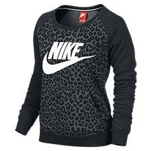 Nike Store. Nike Rally Full-Zip Cheetah Women's Hoodie