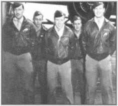 Take Off Order  4  Tail # 40- 2282  Target: Tokyo --- Pilot Lt. E.W. Holstrum, Co-Pilot Lt. L.N. Youngblood, Navigator Lt. H.C. McCool, Bombardier Sgt. .R.J. Stephens, Engineer Gunner Cpl. B.M. Jordan --- Bail Out