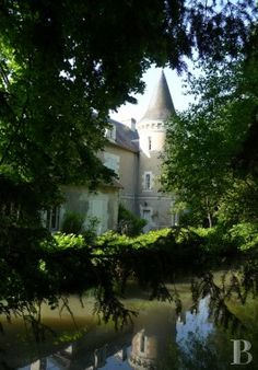 A small 18th century castle, its outbuildings and its water-filled moats in the Poitou region - chateaux for sale France - in South-West, Perigord, Dordogne, Quercy, Limousin - Patrice Besse Castles and Mansions of France is a Paris based real-estate agency specialised in the sale of Castles / chateaux.