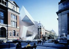 AD Classics: V&A Spiral / Daniel Libeskind + Cecil Balmond, Courtesy of Balmond Studio & Studio Libeskind