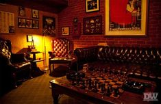 "The Post describes one of the living rooms as a ""man cave"" with a ventilated cigar room."
