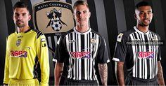 Notts County FC 2013/14 Fila Home Kit