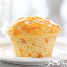 Looking for something simple but delicious for breakfast? Try these Apricot Breakfast Muffins from Smucker's®!