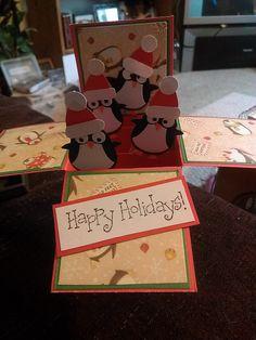 card in a box.