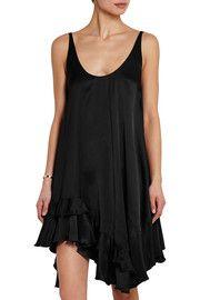 Stella McCartneyIrina asymmetric satin mini dress