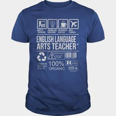 Awesome Tee For English Language Arts Teacher, Order HERE ==> https://www.sunfrog.com/LifeStyle/Awesome-Tee-For-English-Language-Arts-Teacher-104410348-Royal-Blue-Guys.html?id=41088