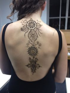 Tonight's henna session :)