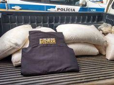 #News  Polícia apreende 150 quilos de nitrato de amônia em Coronel Murta, MG