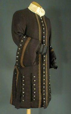 Mode Louis XV, Le costume masculin de 1723 à 1774