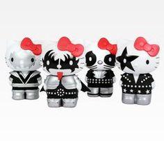 KISS x Hello Kitty Collectible Vinyl Figurine Set