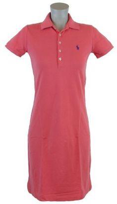 Ralph Lauren Sport Womens Pony Logo Polo Shirt Dress  $84.99  www.your-online-fashion.com