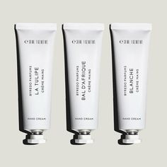 Byredo, minimal, packaging, lotion