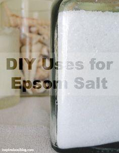 #DIYbeautytreatments - Epsom Salt Uses