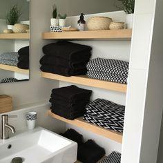 Zwevende badkamerplanken