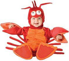 Little Lobster Costume - LOVE!! #baby #costume