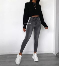 jeans mens style shirts - jeans mens style - jeans mens style fashion ideas - jeans mens style for men - jeans mens style outfit - jeans mens style shirts Winter Fashion Outfits, Look Fashion, Fall Outfits, Woman Fashion, Winter Outfits Tumblr, Summer Outfits, Black Outfits, Woman Outfits, Jeans Fashion