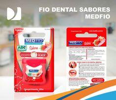 Conheça os produtos MedFio, acesse: http://www.medfio.com.br/  #DistribuindoSorrisos #DentalMedSul #MedFio #FioDental #Dentista #Odontólogos #Odontologia #Dental #SaúdeBucal