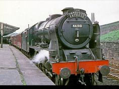 46103 Royal Scots Fusilier. Hobby Trains, Old Trains, Steam Trains Uk, Train Info, Classic Cars British, Royal Engineers, Old Wagons, Steam Railway, Train Times
