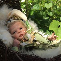 Reborn baby elf Ira (kit by Karola Wegerich)